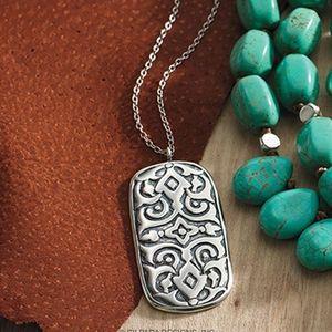 Silpada Basilica necklace